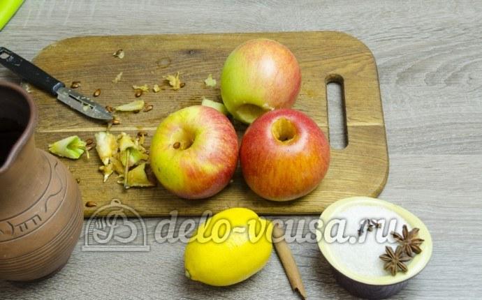 Яблоки в сиропе пошаговый рецепт (10 фото)