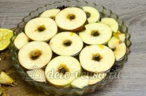 Яблоки в сиропе: Заливаем яблоки сиропом