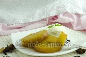 Яблоки в сиропе: Посыпаем сахарной пудрой и корицей