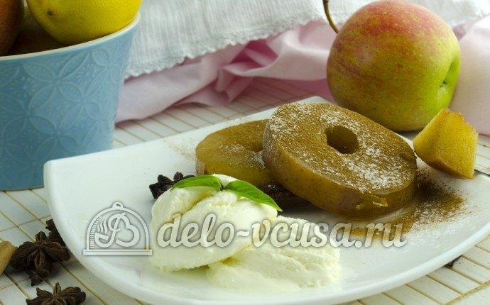 Яблоки в сиропе с пряностями