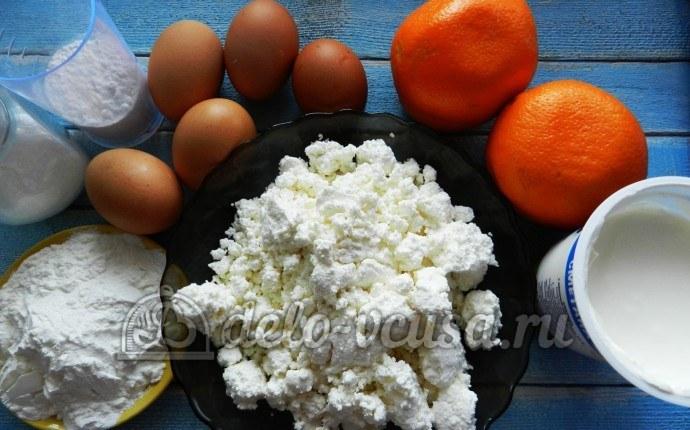Апельсиновый чизкейк: Ингредиенты