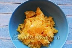Апельсиновый чизкейк: Отделяем мякоть