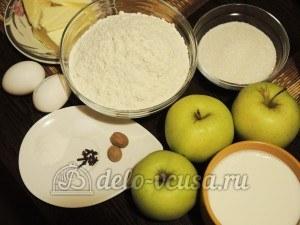 Ирландский яблочный пирог: Ингредиенты