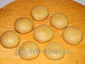 Печенье Барашки: Сформировать шарики