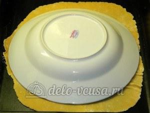 Торт медовик с заварным кремом: Обрезать лишние края