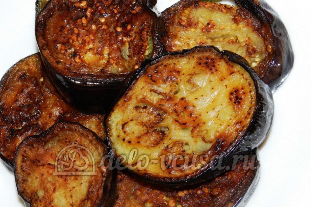 пожарить баклажаны на сковороде рецепт с фото