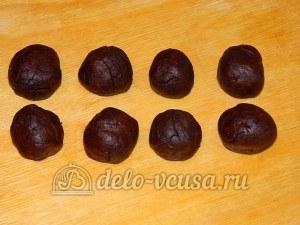 Печенье Барашки: Работаем с шоколадным тестом