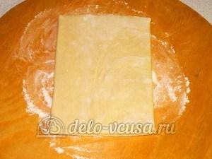 Кабачки в тесте: Разморозить тесто
