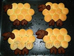 Печенье Барашки: Выпекаем печенье до готовности