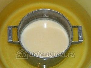 Торт медовик с заварным кремом: Остудить крем