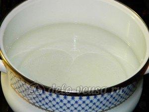 Щи с фрикадельками: Доводим воду до кипения