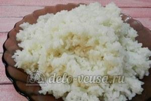 Рисовые крокеты: Сварить рис