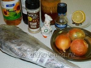 Треска под соусом: Ингредиенты