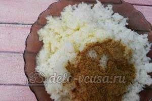 Рисовые крокеты: Добавляем соль по вкусу