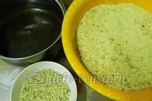 Пирожное картошка с орехами: Подготовить ингредиенты