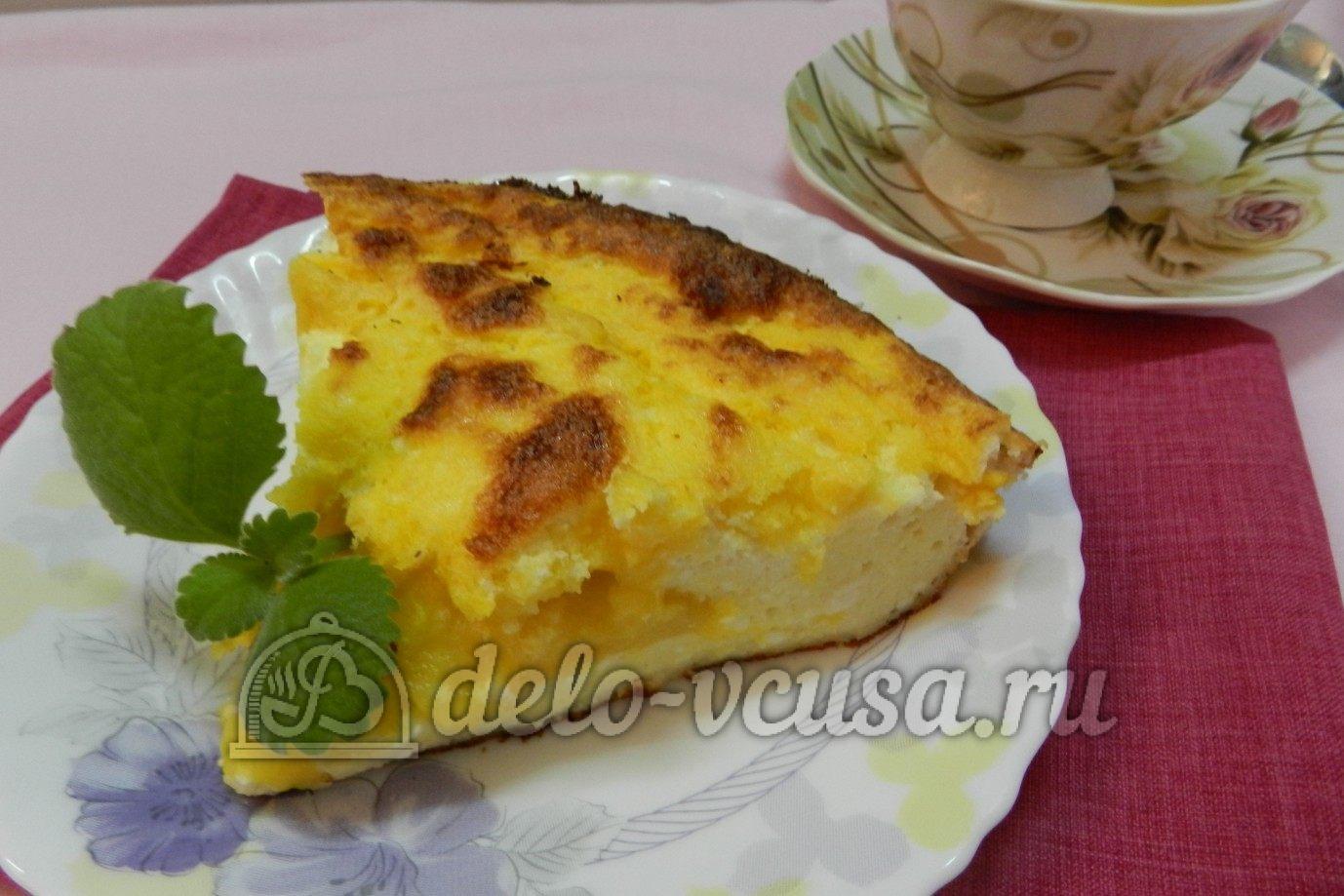 Рецепт апельсиновый чизкейк