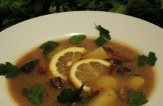 Суп с почками