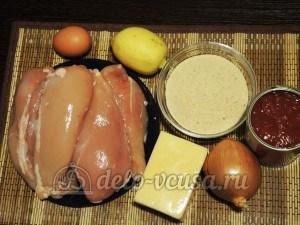 Курица миланезе: Ингредиенты
