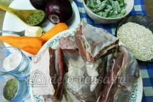Ребрышки с перловкой: Ингредиенты