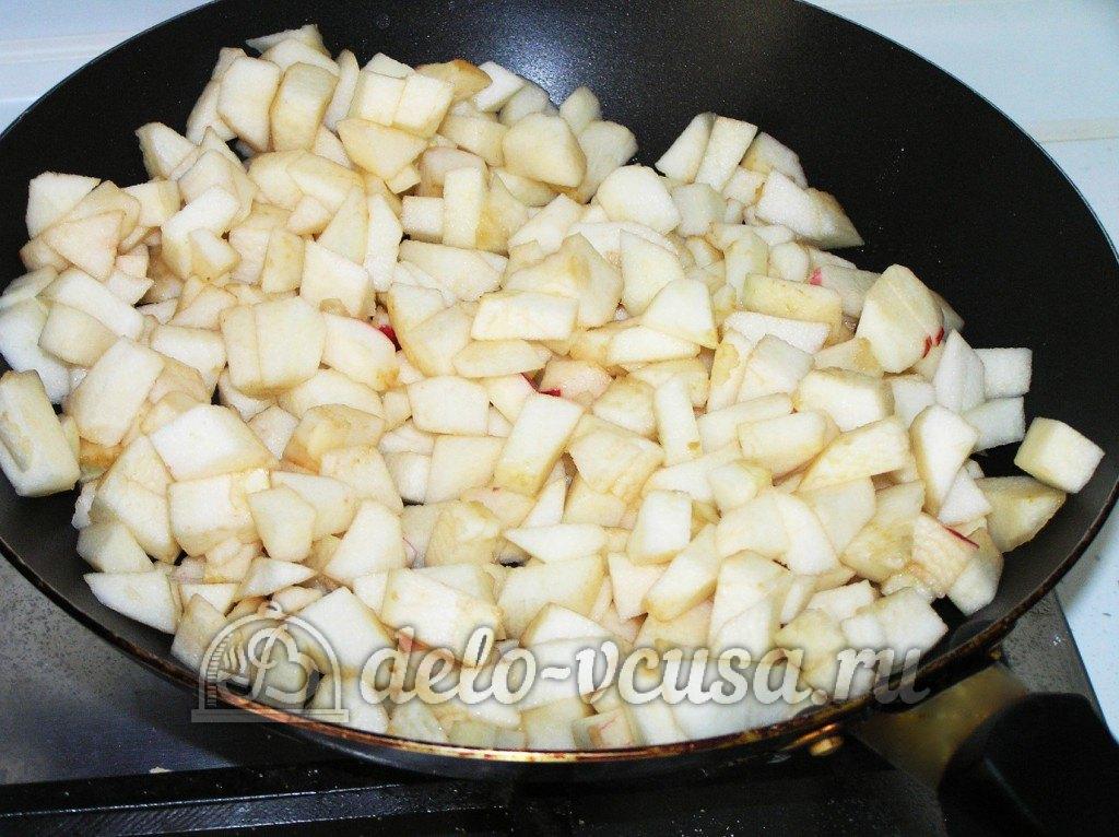 Яблоки с безе рецепт с фото