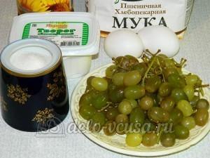 Кекс с виноградом: Ингредиенты