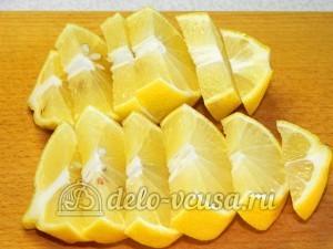 Куриный суп с лимоном: Выдавить сок лимона