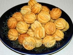 Печенье Орешки: Оставила орешки для пропитки