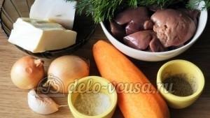 Паштет из свиной печени: Ингредиенты