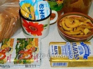 Десерт из айвы с творогом: Ингредиенты