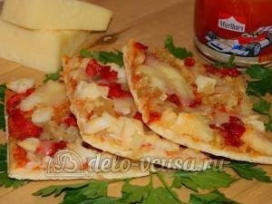 Пицца с овощами