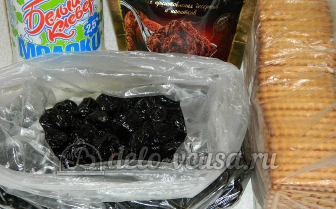 Сладкая колбаска без масла: Ингредиенты