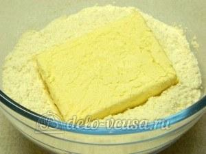 Творожное печенье с маком: Добавить сливочное масло