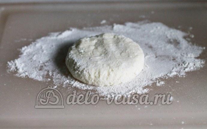 Классические сырники: Сформировать из массы шарики