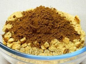 Сладкая колбаска без масла: Добавляем какао