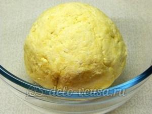 Творожное печенье с маком: Замесить тесто