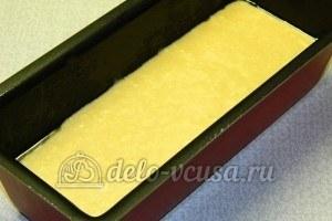 Бисквитные пирожные: Поставить печься вторую часть теста