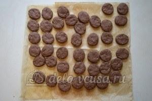 Ореховое печенье с шоколадом: Дать печенью остыть