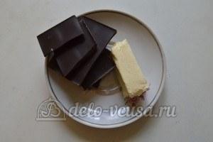 Ореховое печенье с шоколадом: Приготовить глазурь