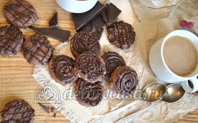 Ореховое печенье с шоколадом Артемон