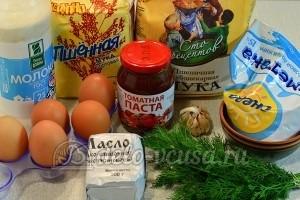 Пшенные блины: Ингредиенты