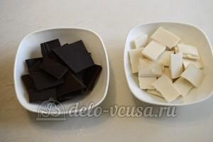 Кейк попсы: Растопить шоколад на водяной бане