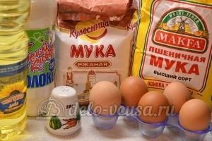 Ржаные блины: Ингредиенты
