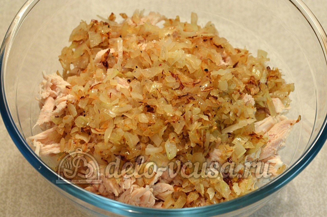 Салаты из блинов рецепты с фото простые