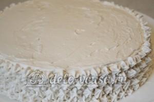 Торт Три молока: Украсить кремом