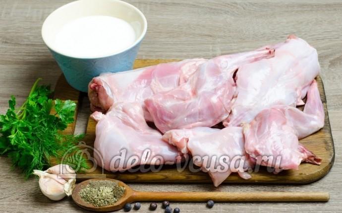 Запеченный кролик: Ингредиенты