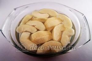 Как заморозить яблоки для начинки: Кладем яблоки в воду