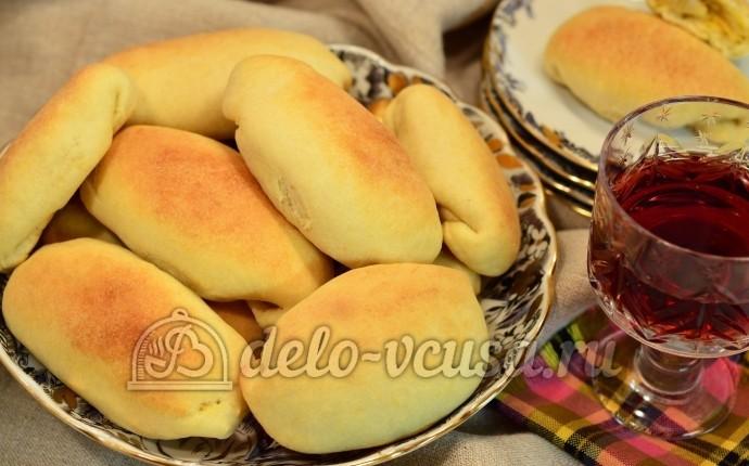 Домашние пирожки в духовке пошаговый рецепт с