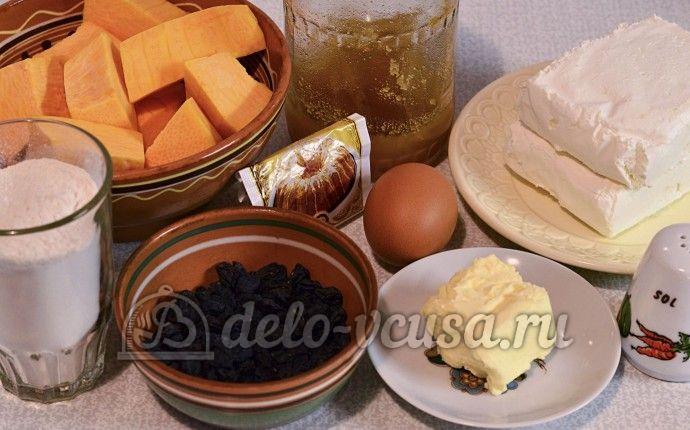 Сырники с тыквой: Ингредиенты