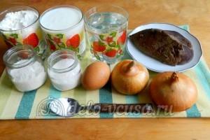Блинчики с ливером: Ингредиенты