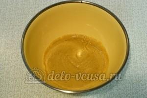 Домашняя горчица: Добавить воду и размешать до однородности